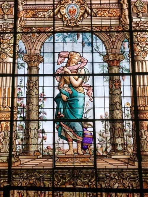 Chapultepec Castle stained glass Mexico City Guide