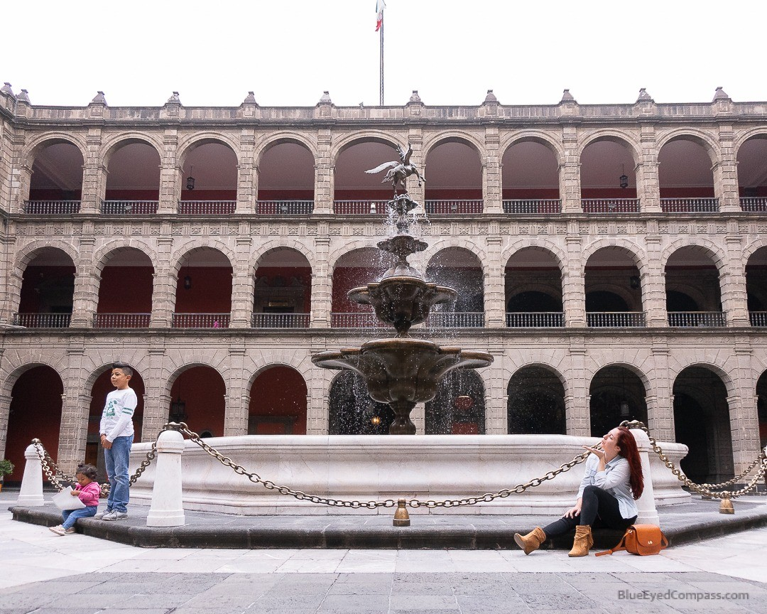 National Palace Courtyard, Mexico City 4