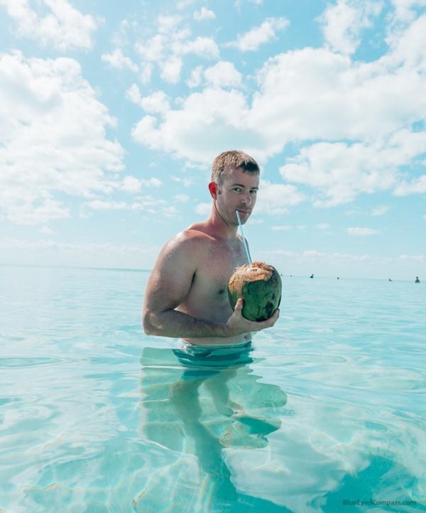 coconuts at Secret Beach