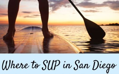 Places to Stand up Paddle Board in San Diego