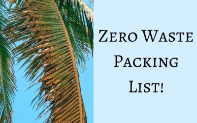 Zero Waste Packing List