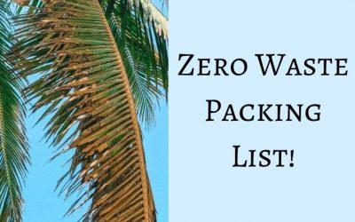 Zero Waste Packing List