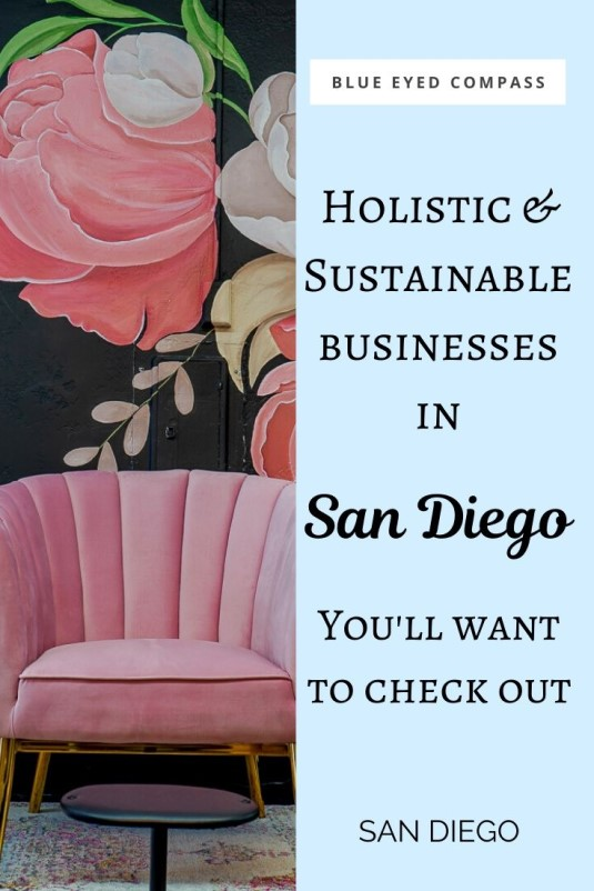 San Diegos Best Holistic and Sustainable Businesses, Blue Eyed Compass