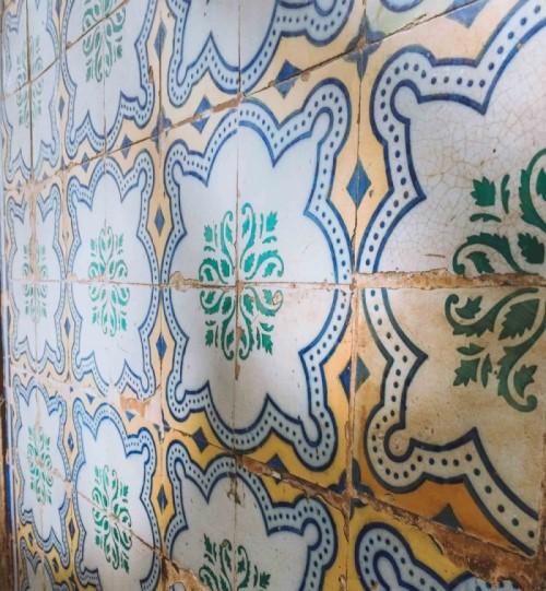 tiles of Lisbon Portugal