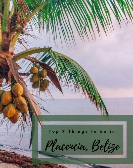 Top 9 things to do in Placencia, Belize